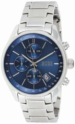 HUGO BOSS Men's Chronograph Quartz Watch with Stainless Steel Bracelet 1513478