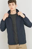 Farah Newbern Navy Nylon Zip Jacket