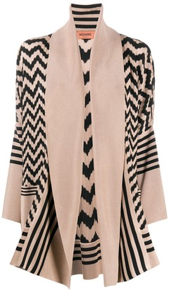 Missoni Geometric Patter Open-Front Cardigan
