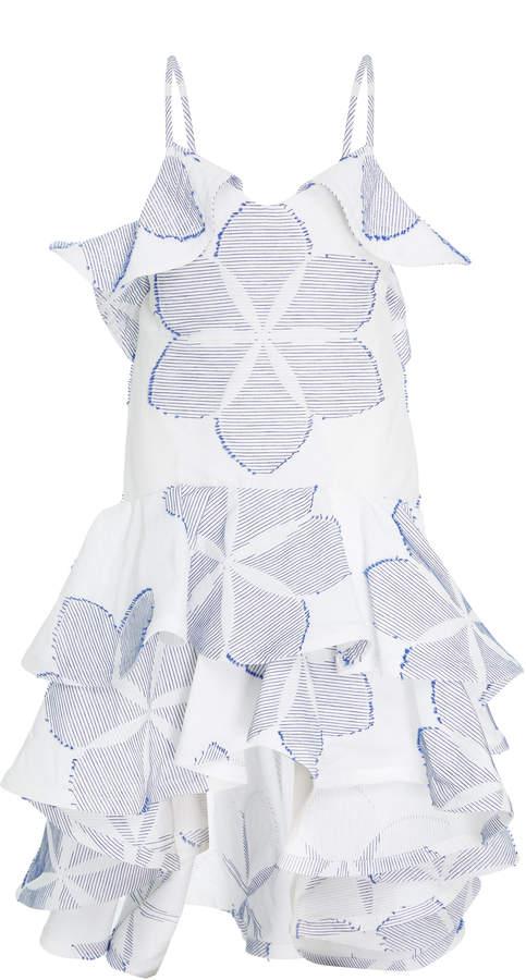Alexis Kellie Ruffle Dress