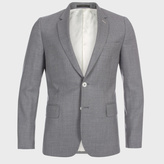 Paul Smith A Suit To Travel In - Men's Light Grey Wool-Twill Blazer
