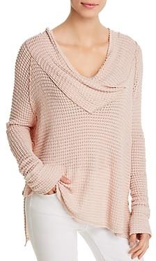 Elan International Crossover Cowl Neck Sweater