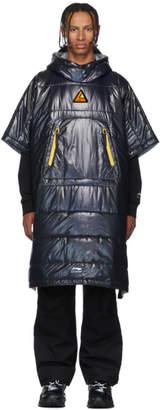 Li Ning Li-Ning Black Duvet Cape Coat
