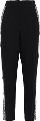 Versace Studded Crepe Tapered Pants