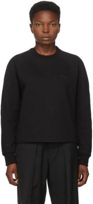 Y-3 Black Classic Logo Crewneck Sweatshirt