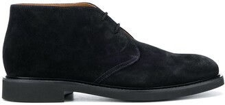 Doucal's Suede Lace-Up Desert Boots