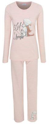 George Tatty Teddy Pink Stripe Pyjamas