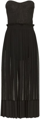 Alexis Inasia Strapless Midi Dress