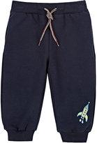 Paul Smith Rocket-Print Sweatpants-NAVY