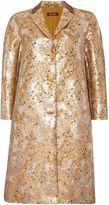 Max Mara RIVALTA metalic jacquard long sleeve jacket