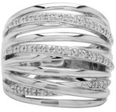 Lord & Taylor Sterling Silver Diamond Accented Ring, 0.3 CT. T.W.