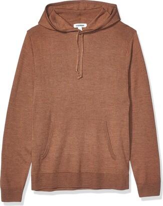 Goodthreads Merino Wool Pullover Hoodie Sweater Denim S