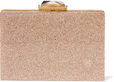 Kotur Taylor Glittered Perspex Box Clutch - Gold