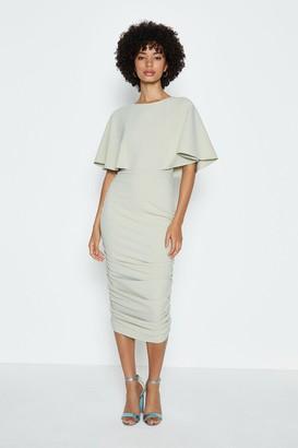 Coast Cape Sleeve Jersey Midi Dress