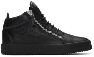 Giuseppe Zanotti Black Kriss High-Top Sneakers