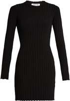 Elizabeth and James Penny long-sleeved ribbed-knit dress