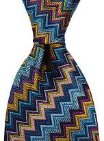 Missoni Chevron Traditional Silk Tie