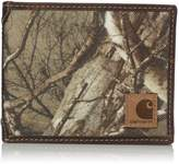 Carhartt Men's Real Tree Rfid Blocking Flip Id Billfold