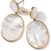 Ippolita 18K Rock Candy Mother-of-Pearl Snowman Earrings