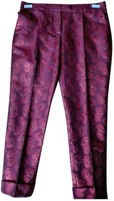 Stella McCartney Stella Mc Cartney Red Wool Trousers for Women