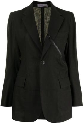 Yohji Yamamoto Pre-Owned Decorative Zip Blazer