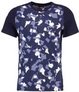 J.lindeberg Print Tshirt Montage Navy