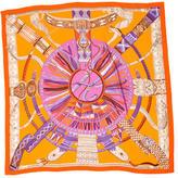 Hermes Ceintures Et Liens Cashmere Silk Shawl