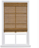 Asstd National Brand Custom Cordless Bamboo and Jute Rope Roman Shade