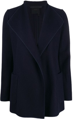 Agnona Draped Long-Sleeve Cardigan