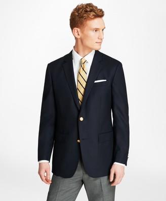 Brooks Brothers Milano Fit Doeskin Stretch Wool Blazer