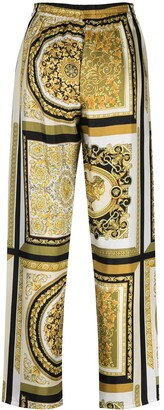 Versace Baroque-Print Pajama Trousers