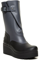 Hunter Galosh Low Wedge Waterproof Boot