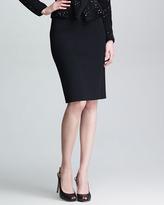 Giorgio Armani Tubino Knit Pencil Skirt