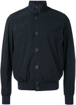 Herno buttoned bomber jacket - men - Polyamide/Spandex/Elastane - 50