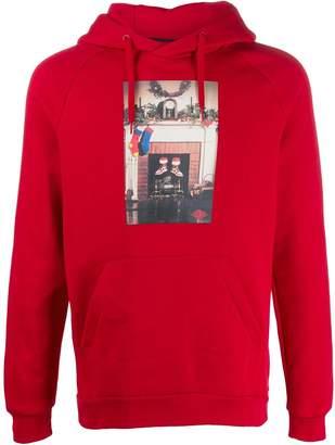 Jordan chimney print hoodie