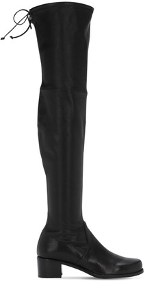 Stuart Weitzman 40mm Midland Over-The-Knee Leather Boots
