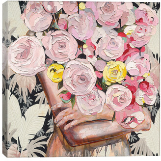 iCanvas So Rosy By Jessica Watts Wall Art