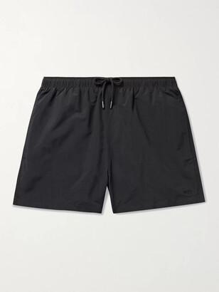 Solid & Striped The Classic Mid-Length Swim Shorts - Men - Black