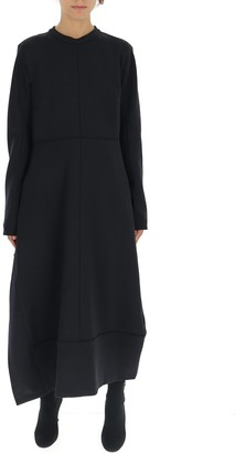 Jil Sander Panelled Flared Dress