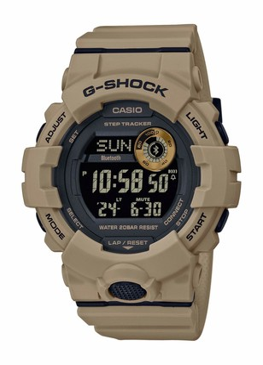 Casio Mens Digital Quartz Watch with Plastic Strap GBD-800UC-5ER