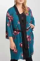 Soprano Blue Floral Kimono