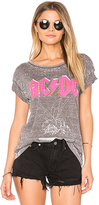 Junk Food Clothing AC/DC Tee in Gray
