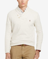 Polo Ralph Lauren Men's Ribbed Shawl Pullover