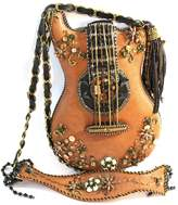 Mary Frances Beaded Guitar Purse