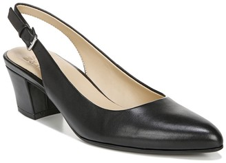 Naturalizer Charlee Leather Slingback Heel - Wide Width Available