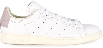 adidas Stan Smith White And Dusky Pink Leather Sneakers