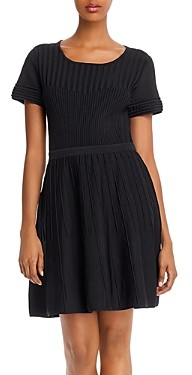 Parker Hamilton Knit Fit and Flare Dress