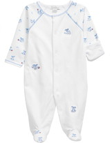 Kissy Kissy Playtime Pup Mixed Print Footie