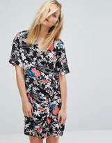 Paul & Joe Sister Floral Print Wrap Tea Dress
