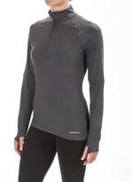 Merrell Soto Zip Neck Tech Shirt - Long Sleeve (For Women)